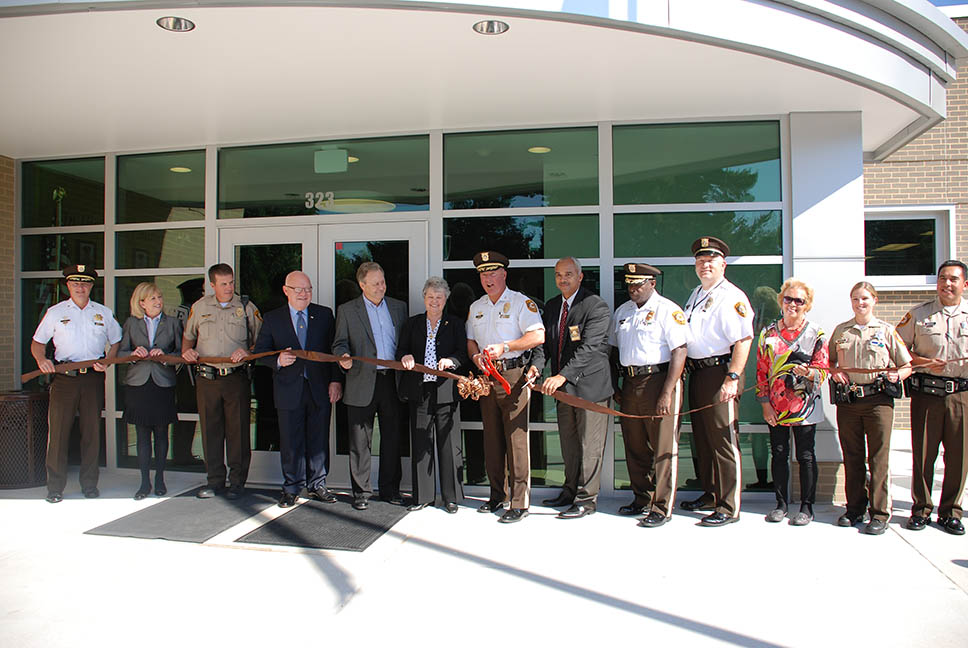 fourth precinct ribbon cutting