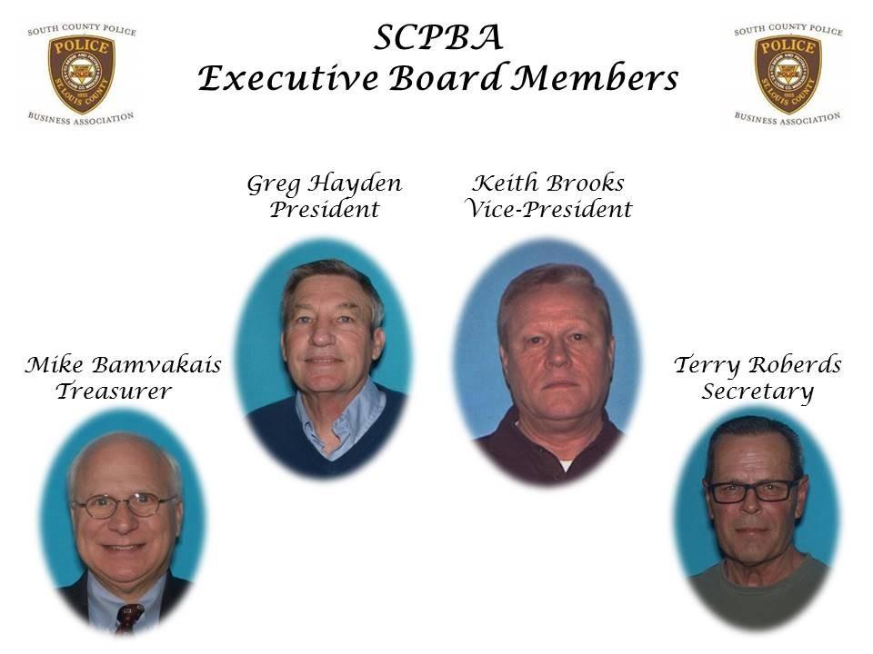 SCPBA Executive Board Members